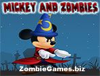 Mickey and Zombies Icon