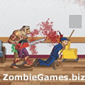 Zombie Warrior Man Icon