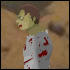 Zombie Baseball Icon