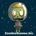 Zombie Head Mars Icon